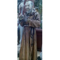 Imagen Religiosa Estatua Padre Pio /s.c.jesús /m.m. 60 Cm
