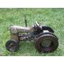 Escultura En Hierro Reciclado Tractor Antiguo Olvidado