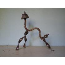 Escultura Perro En Metal Reciclado