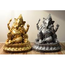 Ganesha Sharanam Estatua De Resina Decoracion Mantra