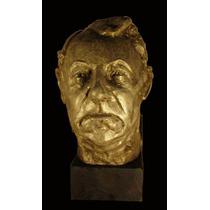 Busto De Jean Gabin, Actor Frances, Cemento, Tamaño Natural