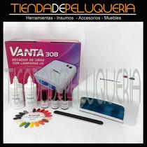 Kit Cabina Uv Vanta 36watts + Esmalte Permanente Acrilab