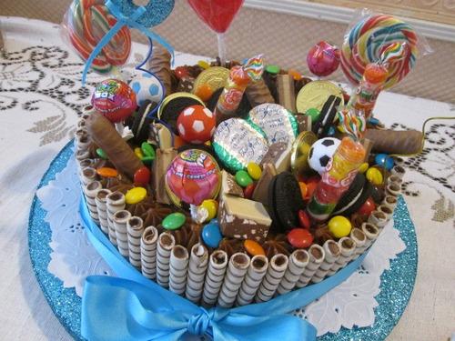Espectacular Torta De Golosinas!! Ideales Para Niños - $ 300,00 en ...