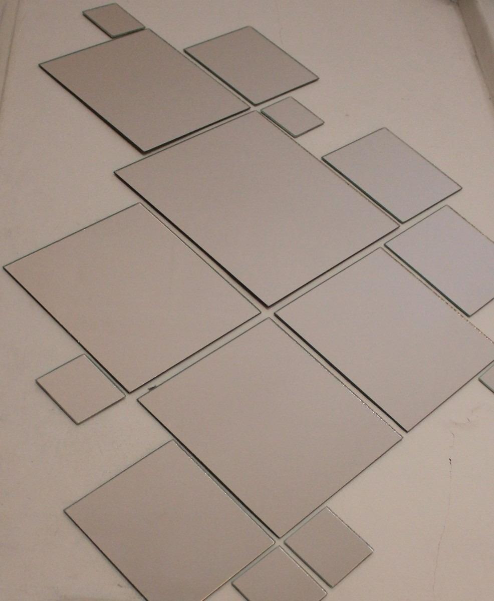 Espejos cuadrados kit 15 unidades todoespejos 199 99 for Espejos cuadrados