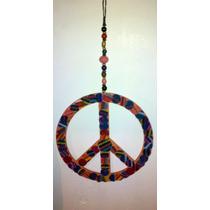 Adorno Para La Pared Simbolos De La Paz Buhos