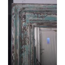 Espejo Decapado Dos Colores