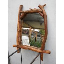 Espejos rusticos espejos marco de madera en decoraci n for Marcos para espejos de madera rusticos