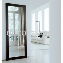 Espejo Marco Madera Kirí 1,80 X 0,80 M Color A Elección