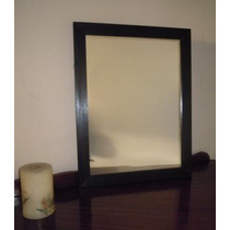 Espejo Con Marco De Madera P/baño O Deco 70x80