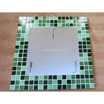 Espejo Con Venecitas - Decoracion - 40 X 40 Cm