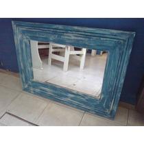 Espejo Con Marcos De Madera Reciclada