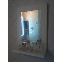 Espejo Con Marco De Madera 30x 40cm Living Baño Comedor