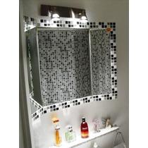 Espejo Triptico De Venecitas 60x80 Cm