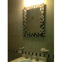 Espejo Con Venecitas 59 X 59 Cm
