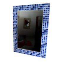 Espejo Con Marco De Venecitas - Medida 50x70 - La Plata