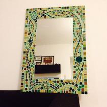 Espejo Para Baño Decorado En Venecitas