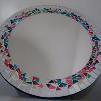 Espejo Artesanal Redondo