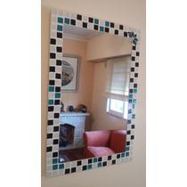 Espejo Con Venecitas Decorativo 40x60cm Baño Living Comedor.