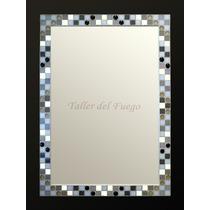 Espejo Marco De Venecitas, 60 X 80 Cm., Calidad Superior