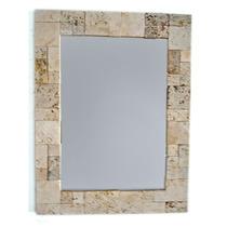 Espejos Con Venecitas Travertino Piedra Natural 40 X 60 Cm