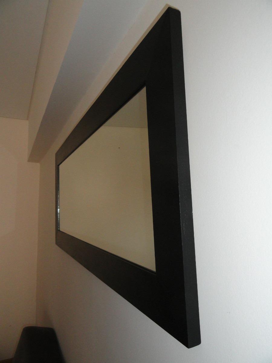 Espejos minimalistas imagui for Modelos de espejos con marcos de madera
