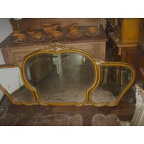Espejo Frances Tres Lunas