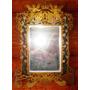 Unico Espejo Bronce Art Noveau Siglo Xix