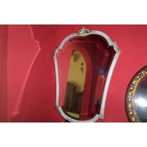 Espejo Frances Biselado Impecable Estado 94 Cm De Alto