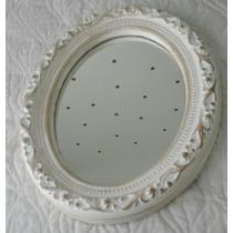 Espejo Estilo Antiguo Frances Vintage Ovalado