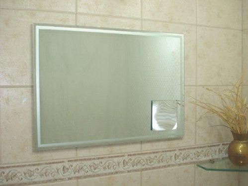 Espejos para ba o con aplique de aumento 550 00 en - Espejos de aumento para bano ...