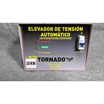 Elevadores De Tension 10kw Automatico 140-240 Con Corte.