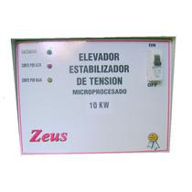 Elevador Automatico De Tension 10kw 140-240v. Con Corte