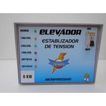 Elevador Estabilizador De Tension 8 Kw. C/ Corte 140v - 240v