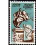 Egipto Sello Usado Estatua De Simón Bolívar A Caballo 1983