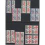 Congo 1963 Cruz Roja Serie Completa Mint En Cuadros !