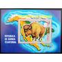 Guinea Ecuatorial, Fauna Bisonte Bloque Aéreo Mint L5646