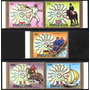 Chad Serie Completa X 5 Usadas Olimpíadas Munich 1972