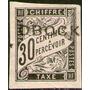 Obock (colonia Francesa) Sello Nuevo Uso En Taxe Año 1892