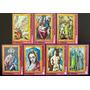 Guinea Ecuator Arte Serie 7 Sellos Pinturas Greco Mint L5680