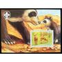 Benin, Tema Fauna Ciervos Bloque 1 Sello 2003 Mint L5705