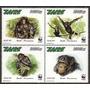 Fauna - Wwf - Chimpancé Pigmeo - Zaire - Serie Mint (mnh)