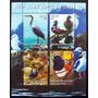 Congo, Fauna Bloque 4 Sellos Aves 2004 Mint L5683