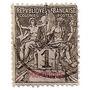 Colonia Francesa Martinica Sello De 1 C. Año 1892