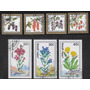 Mongolia, Flora, Flores, 7 Sellos Diferentes
