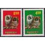 Fauna - Año Del Perro - China Taiwan - Serie Mint (mnh)