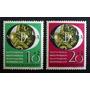 Alemania - Serie Mi. 141-142 Expo 1951 Mint L3517