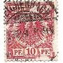 Alemania Imperio 10p.tipo D Catalogo Yvert Nº47 Año 1889