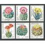 D D R 1983 Mi 2802/07** Yv 2445/50 Mint S/comp Flores Cactus