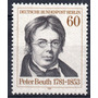 Berlin 1981 Yv 616** Mint ( M N H) Peter Beuth