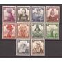 3º Reich Alemania 1935 Serie Trajes Tipicos Mint 170 U$d